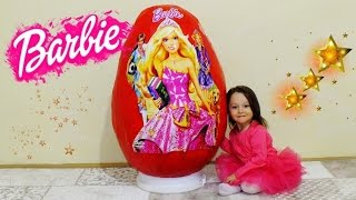 Süper Dev Barbie Sürpriz Yumurta - Barbie Giant Egg Surprise - Ken Zoomer My Little Pony