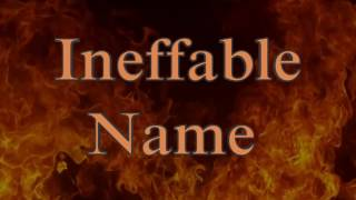 VIRGIN STEELE - The Ineffable Name (Lyric video)