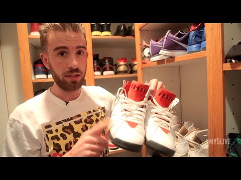 My 5 LIVE: Drama Beats Takes Us Inside His Sneaker Rotation