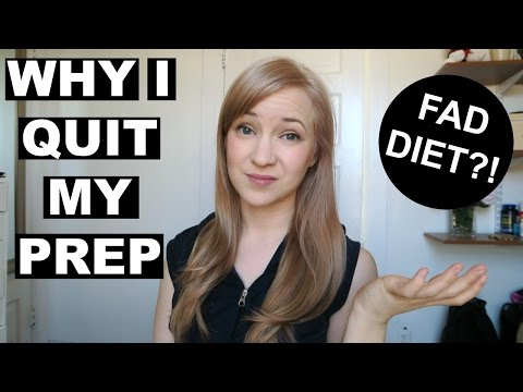 Bodybuilding = Fad diet? | Quitting My Bikini Prep