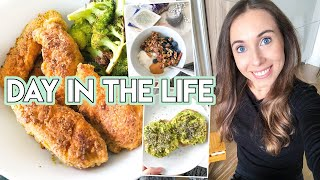 DAY IN THE LIFE: healthy chicken tenders, grocery haul