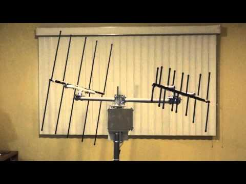 Ass antenna for amateur sattelite