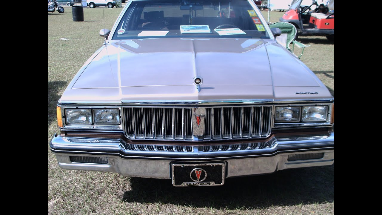 1984 Pontiac Parisienne Brougham Four Door Sedan