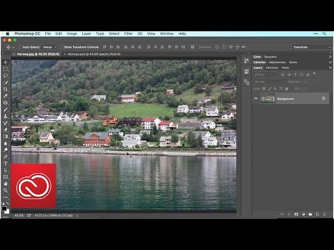 How to Edit a Photo in Photoshop (2/5) | Adobe Creative Cloud