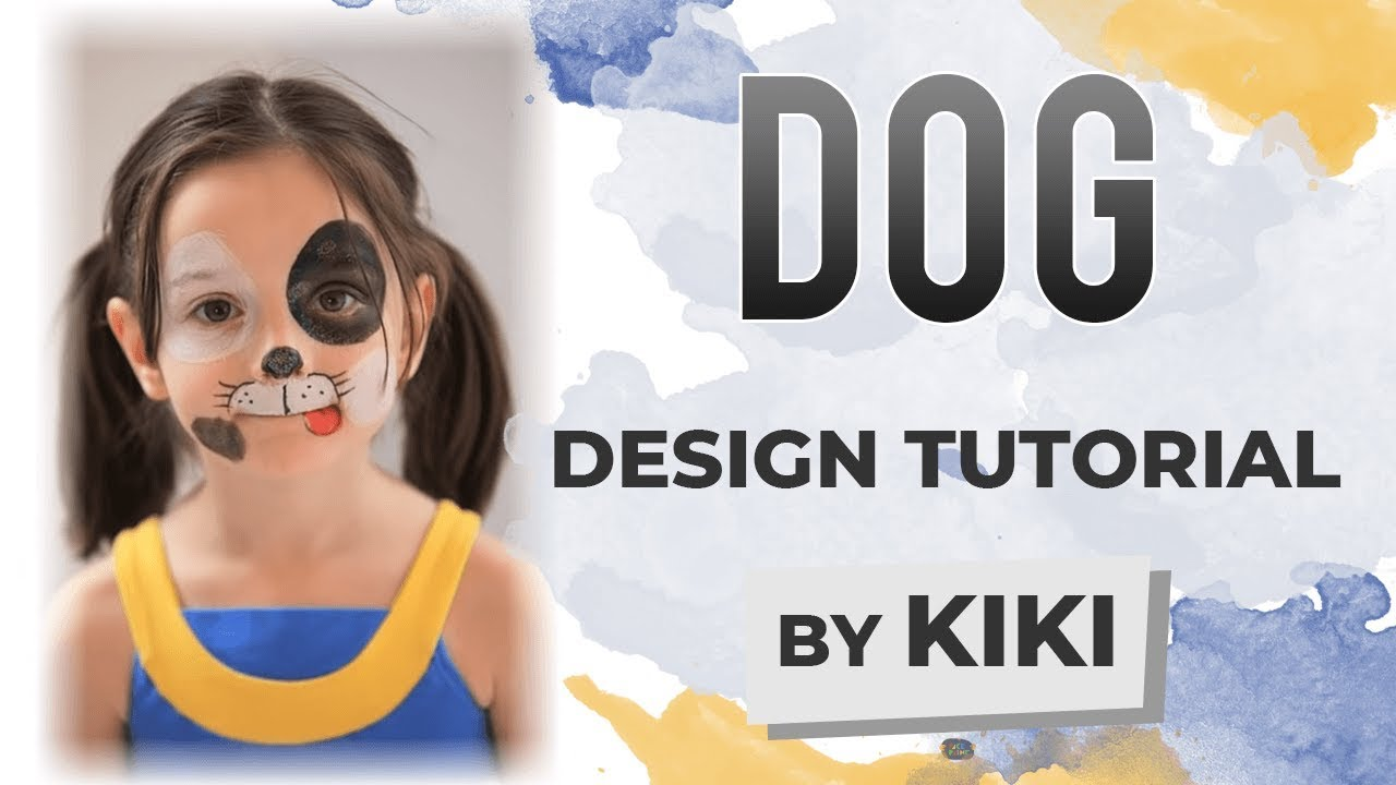 How To Make A Face Paint Dog Nose