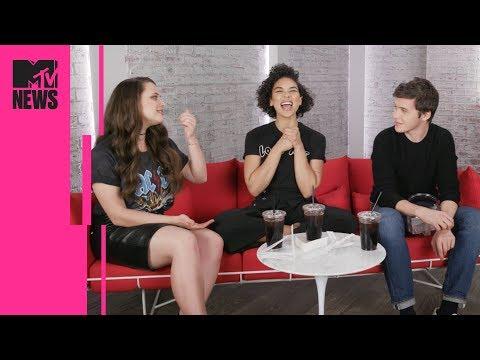 'Love, Simon' Cast Q&A With Iced Coffee | MTV News