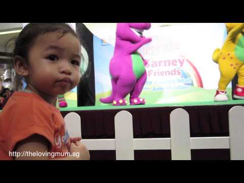 Barney And Friends Live Show At City Square Mall video