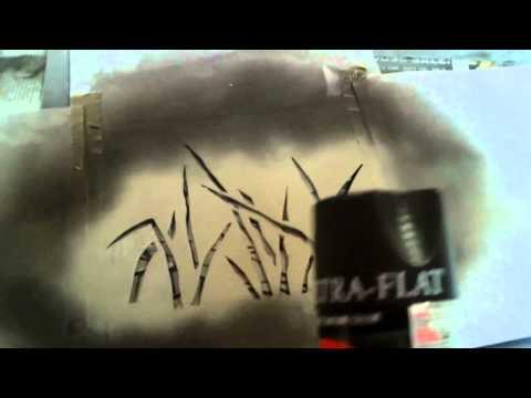 How to: spray paint camo (mossberg maverick 88 shotgun)