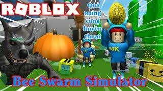 GIẢI CỨU QUẢ TRỨNG VÀNG BỊ CON SÓI GIAM GIỮ TRONG HANG TỐI[ROBLOX:Bee Swarm Simulator]NAMLKUN#3