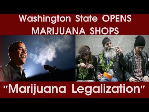 Marijuana Legalization | Washington State OPENS 1st non medical MARIJUANA SHOPS