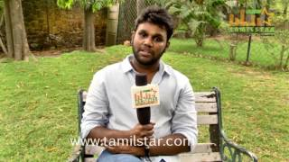S  P  Ragavesh At Pencil Movie Team Interview