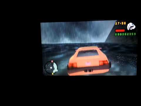 How to fly a car in gta liberty city