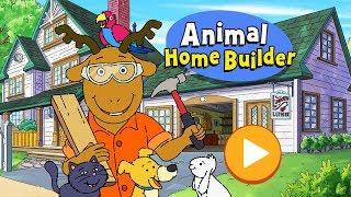 Arthur Animal Home Builder Episode PBS Kids Games (Kids Games TV)