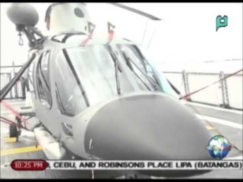 NewsLife: 2 more AgustaWestland (AW109) choppers now in PHL || Dec. 29, 2014