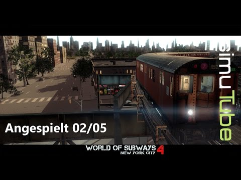 World of Subways 4| Times Square - Flushing Main St #02 - Let´s Play German [HD+]