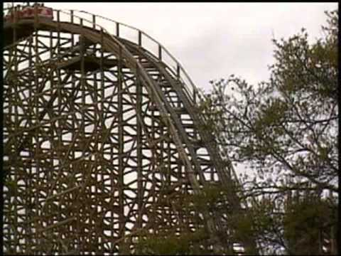 (Old) Texas Giant At Six Flags Over Texas