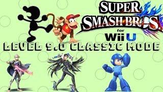 Trick shot, Slaps, and Epic Fails(Smash 4 Classic Mode) Part 4