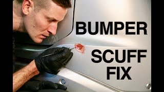 How to Hide a Bumper Scuff Fast
