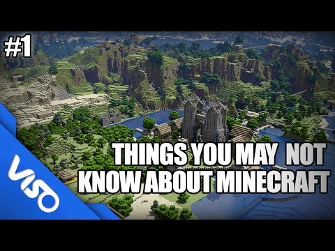 Things You May Not Know About Minecraft #1
