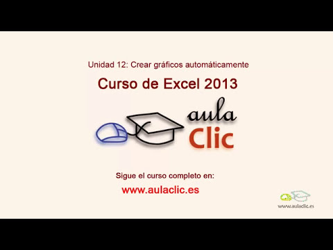 Curso de Excel 2013  12 1  Crear grficos automticamente