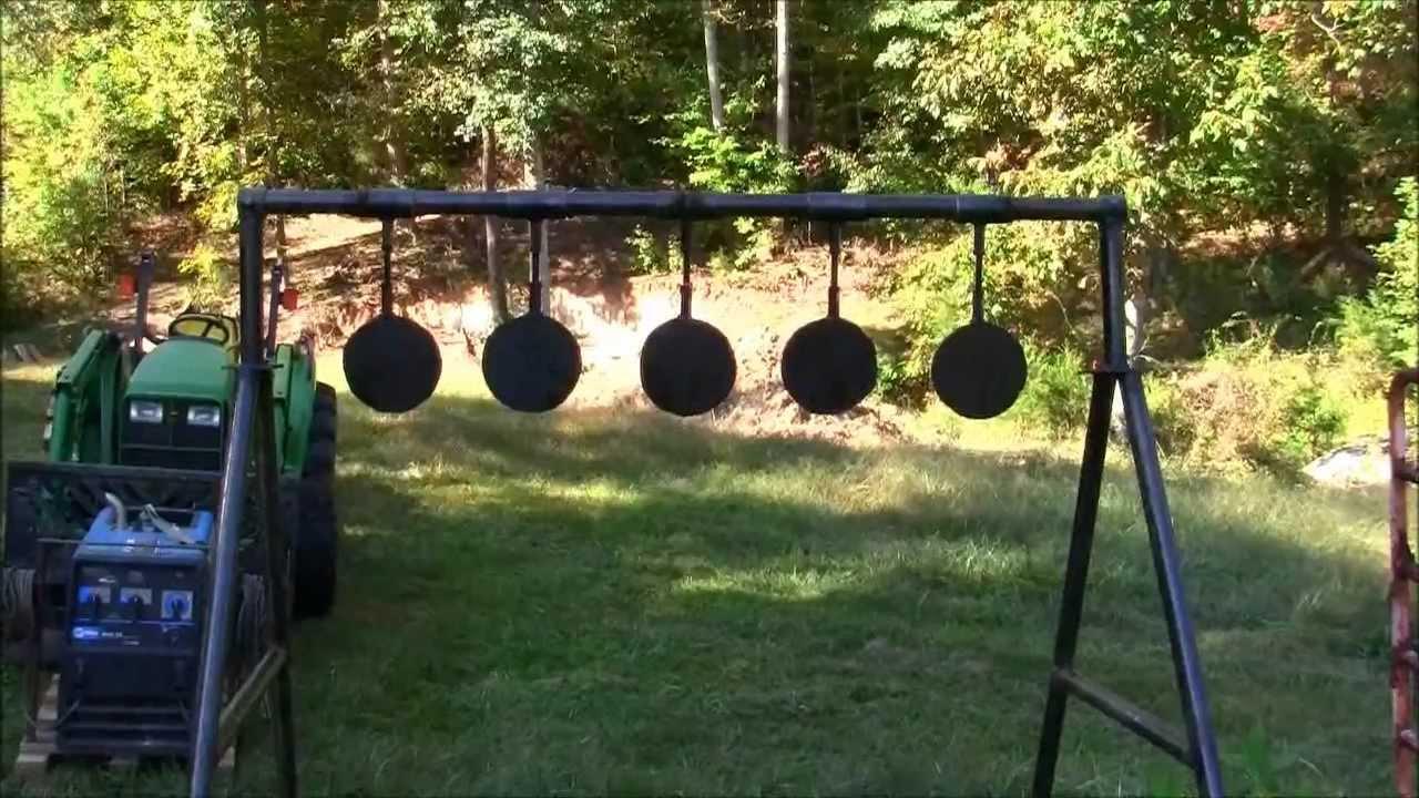 MY Homemade Swinging Targetsand The Range Officer
