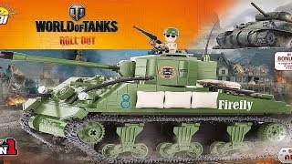 Táta komentuje - stavebnice COBI M4 Sherman/Firefly (Nejpoužívanější americký tank!)