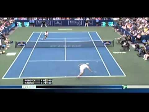 アンディ ロディック - The Greatest Championship テニス Point Ever