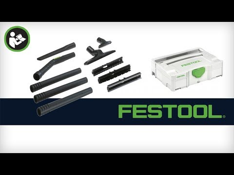 Festool Compact Cleaning Set for HEPA Dust Extractors (497697)