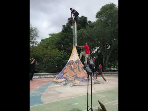 Dropping in with @luizfrancis.co 🎥: @denisilvact #shralpin | Shralpin Skateboarding