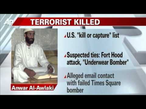 US Gov't: Al-Qaida's Al-Awlaki Killed in Yemen