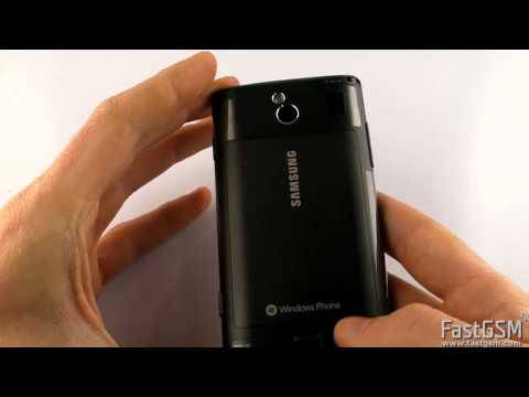 Unboxing and First Look at Samsung Omnia 7 (i8700) & Samsung Focus (i917)