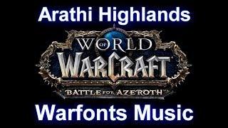 Arathi Highlands Warfronts Music (Complete) - Warcraft Battle for Azeroth Music