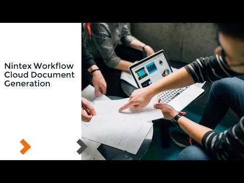 How To: Nintex Workflow Cloud - Document Generation
