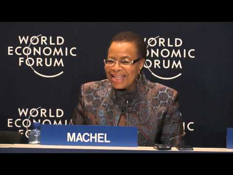 Africa did not cause the problem of global warming, says Graça Machel