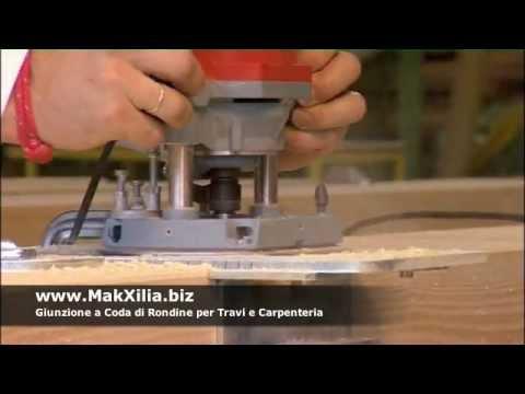 Dima per sistema di connessione travi in legno 1 how to for Giunzioni legno wolfcraft