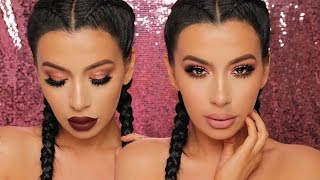 Rose Gold |  NEW YEARS EVE MAKEUP TUTORIAL
