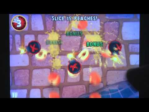 Fruit Ninja: Puss in Boots iPhone Gameplay Review - AppSpy.com