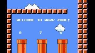 Super Mario Bros. Speedrun in 4:57.69