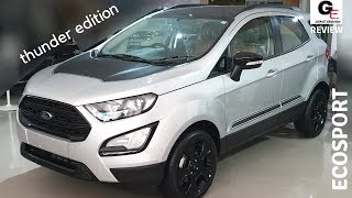 2019 Ford Ecosport Thunder Edition 🔥| the additions are superb | features | review | specs | price