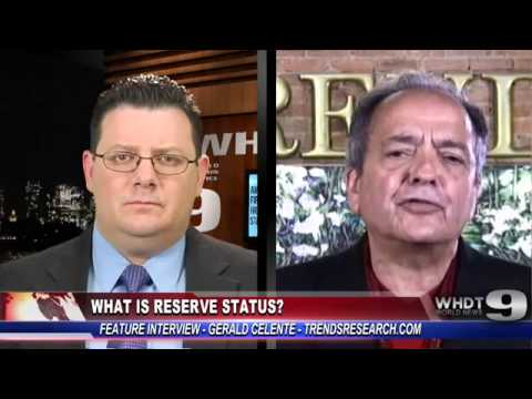 Gerald Celente - Reality Report WHDT World News - April 19, 2013