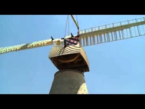 Jerusalem's iconic windmill to resume its daily grind