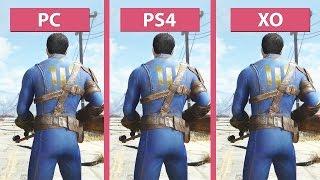 Fallout 4 – PC vs. PS4 vs. Xbox One Graphics Comparison [FullHD][60fps]