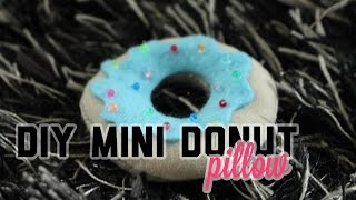 DIY Mini Donut Pillow | Noa Steendam