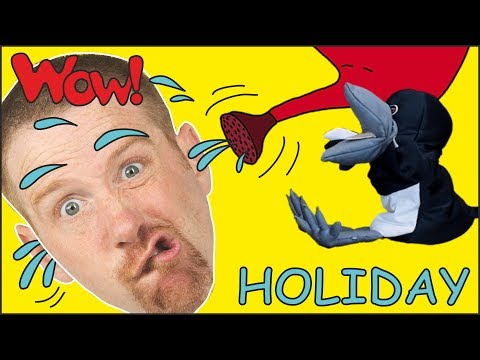 Holiday Stories from Steve and Maggie for Kids | Free Speaking Wow English TV