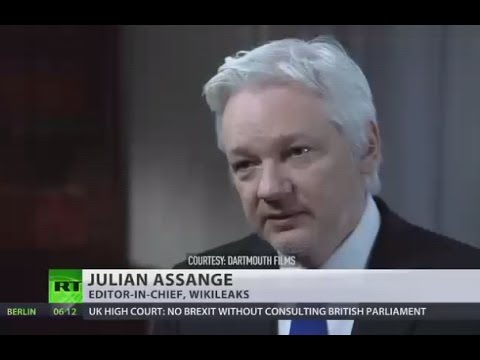 'Trump would not be permitted to win' - Assange interview w/John Pilger (Courtesy Darthmouth Films)
