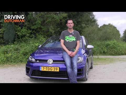 Autotest Volkswagen Golf R 2.0 TSI 4Motion DrivingDutchmanCom