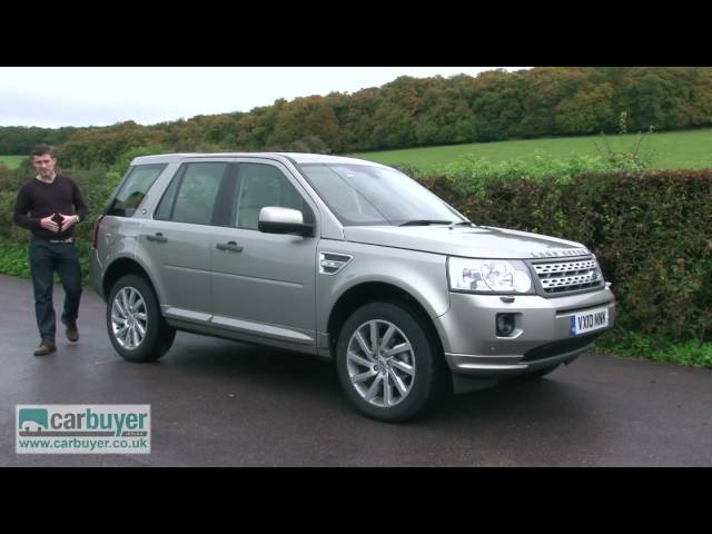 Land Rover Freelander SUV review - CarBuyer - YouTube