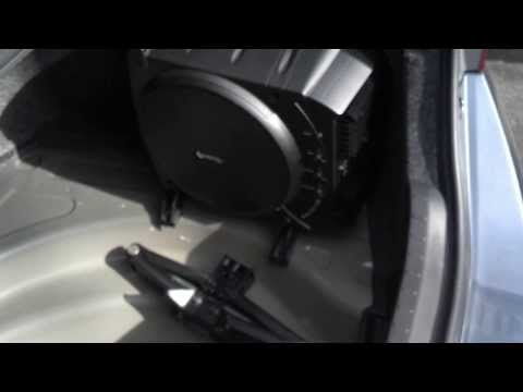 Infinity BassLink Subwoofer Install in a 2014 Toyota Corolla w/ Interior Trim Removal