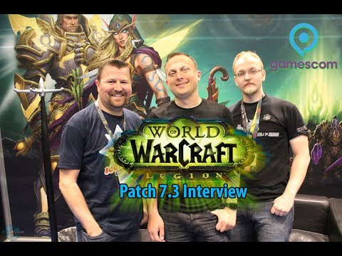 GamesCom 2017 World of Warcraft: Legion Interview w/ Ion Hazzikostas
