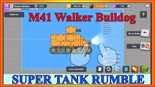 Lắp Ráp Xe Tăng M41 Walker Bulldog | Phim Hoạt Hình Về Xe Tăng